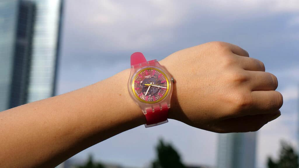 orologi swatch con swatchpay