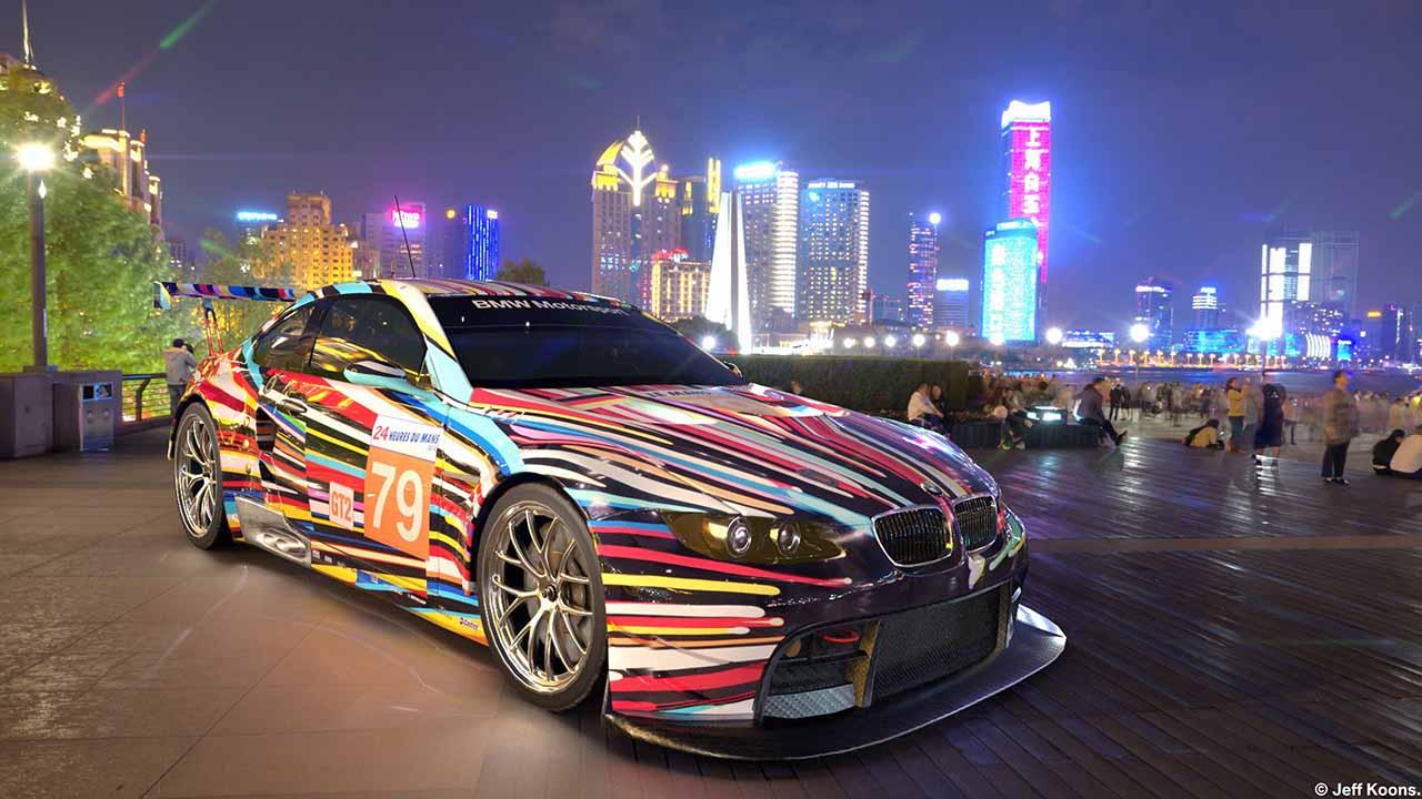 BMW Art Cars: la prima mostra di macchine in realtà aumentata thumbnail