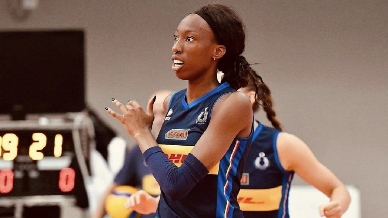 Paola Egonu sarà la portabandiera olimpica per l'Italia thumbnail