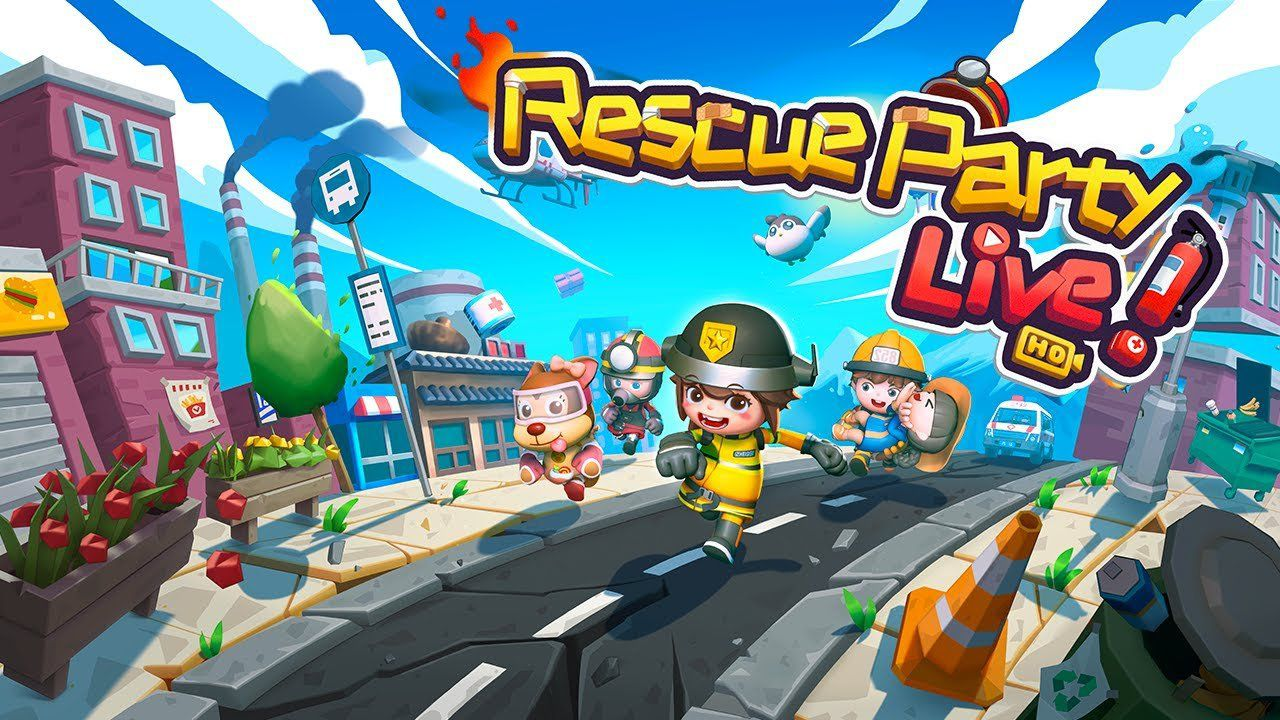Rescue Party: Live! In arrivo un nuovo party game cooperativo thumbnail