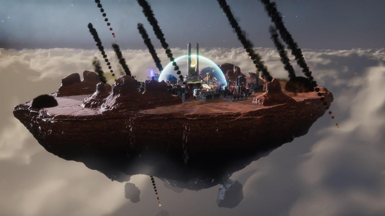 Sphere - Flying Cities, ecco il trailer del videogioco City-Builder Sci-Fi thumbnail