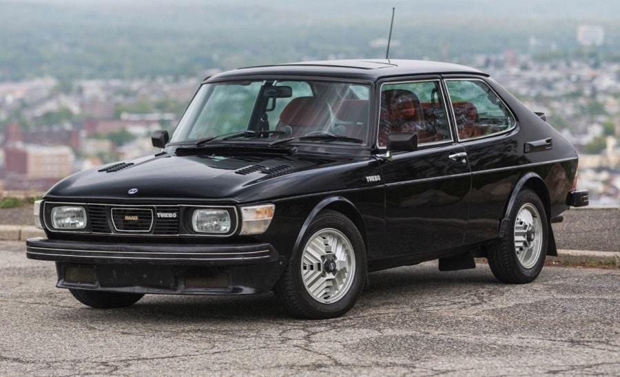 storia case automobilistiche Saab 99 turbo