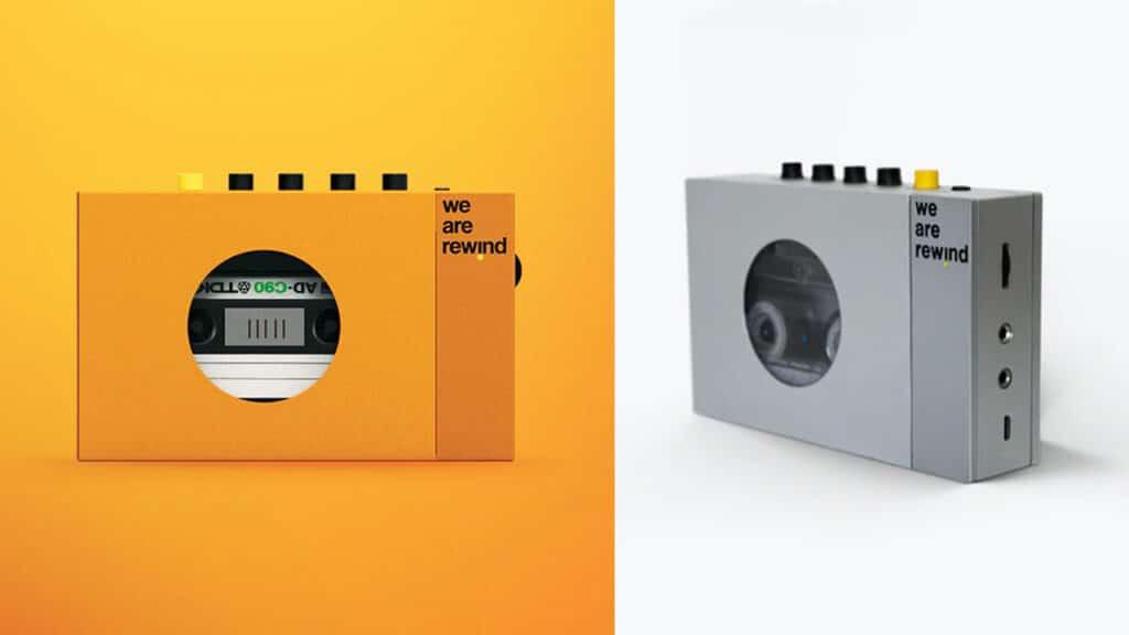 lettori di cassette - we are rewind