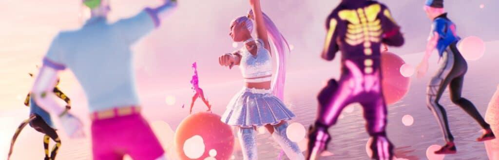 Il concerto di Ariana Grande su Fortnite: ecco le nostre impressioni