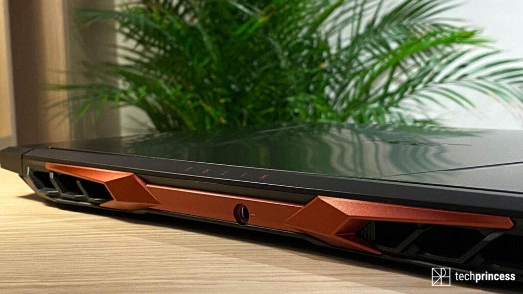 Acer Nitro 5 2021 recensione design
