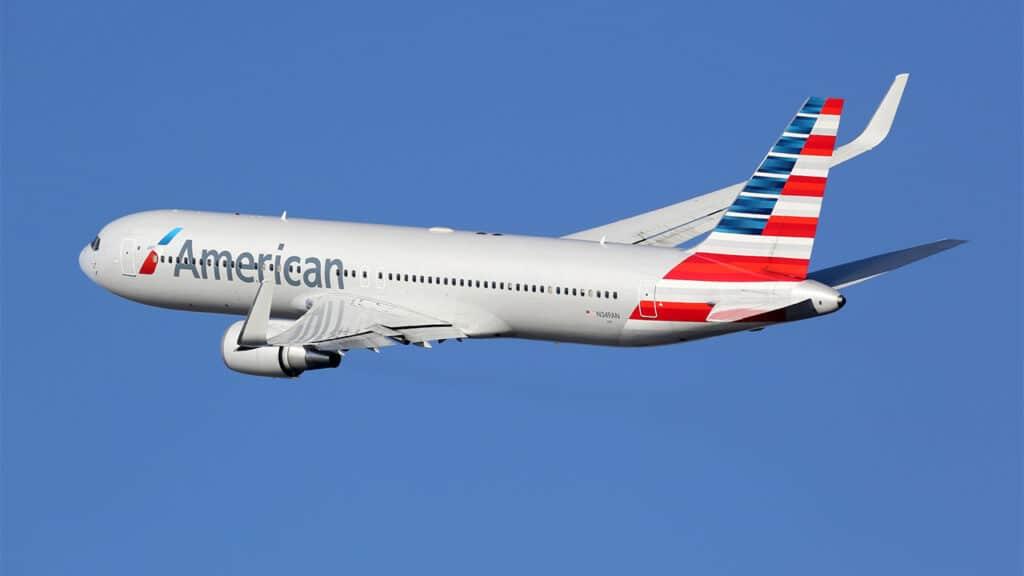 American Airlines TikTok gratuito