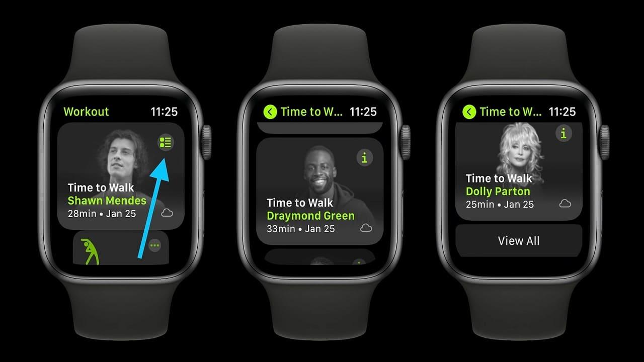 Apple lancerà nuove varianti della funzione Time to Walk thumbnail