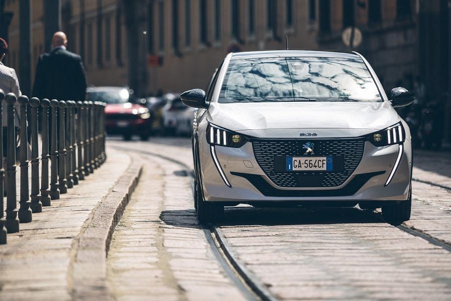 Auto elettriche più vendute e-208