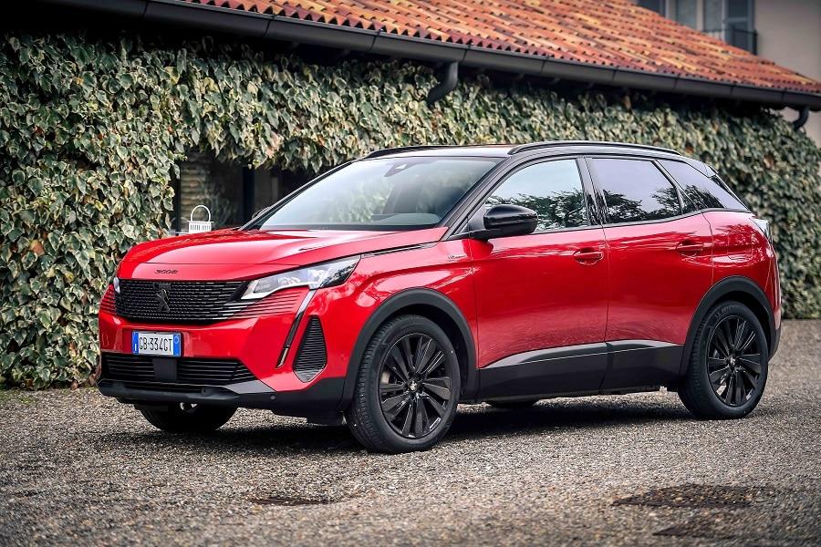 Auto plug-in più vendute Peugeot 3008