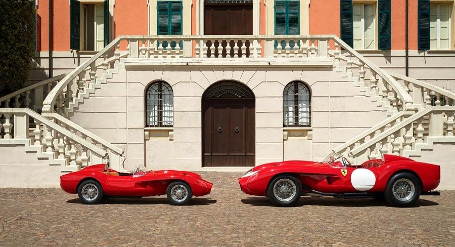 Ferrari Testa Rossa J confronto