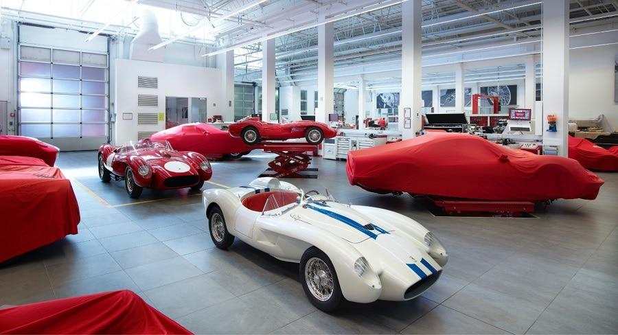 Ferrari Testa Rossa J ferrari classiche