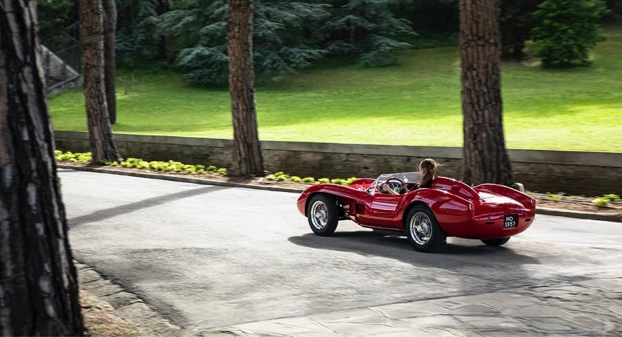 Ferrari Testa Rossa J posteriore
