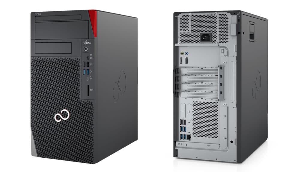 PC Desktop Fujitsu workstation CELSIUS W5011