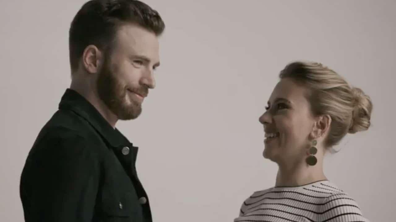 Scarlett Johansson e Chris Evans insieme nel film Ghosted? thumbnail