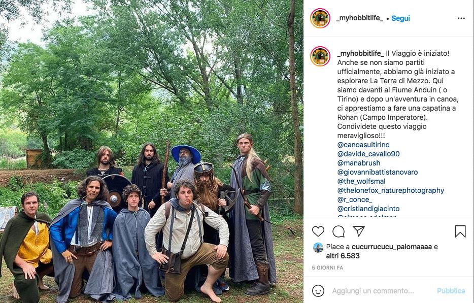 Hobbit viaggio