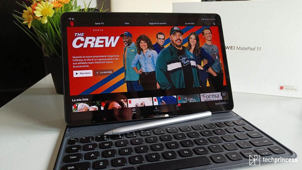 Huawei MatePad 11 recensione display