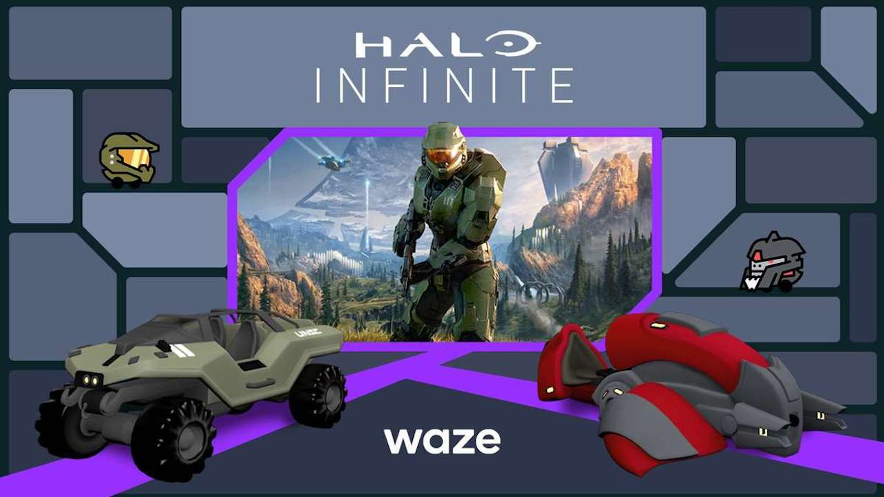 Master Chief è il nuovo navigatore di Waze thumbnail