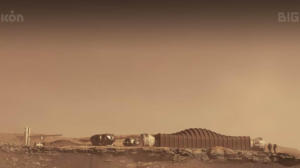 NASA Mars Dune Alpha  - vita su Marte