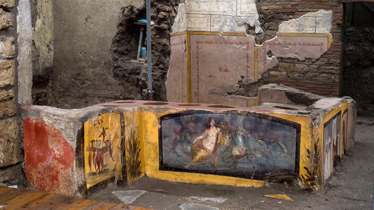 A Pompei apre al pubblico il primo fast food della storia thumbnail
