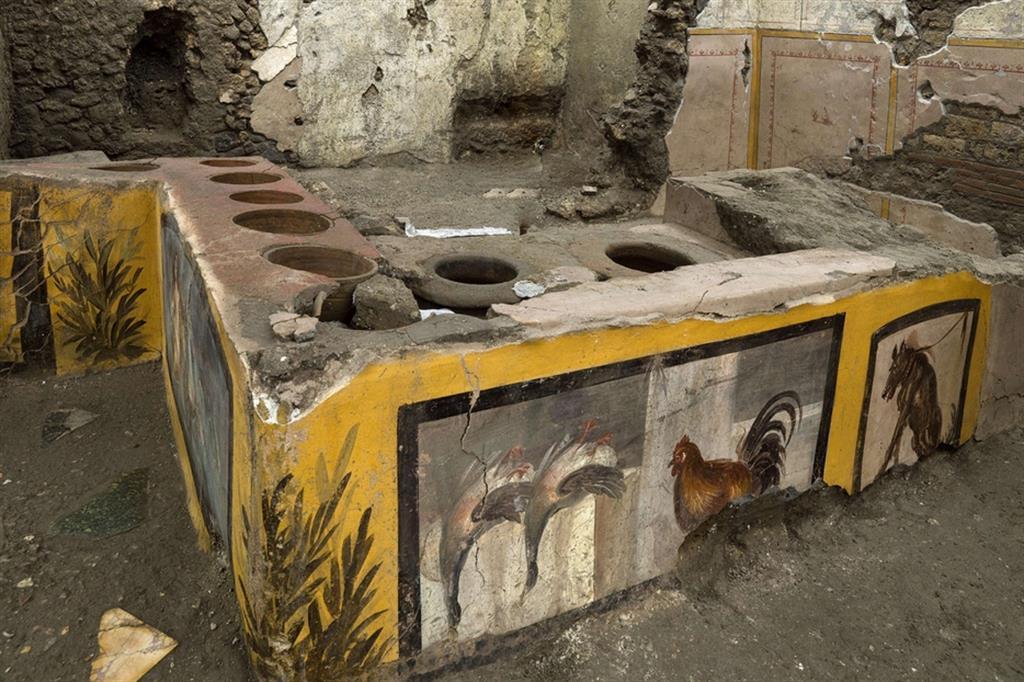 Pompei fast food