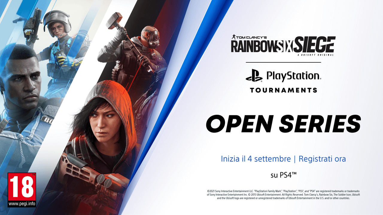 Tom Clancy's Rainbow Six Siege entra nella PlayStation Tournaments Open Series thumbnail