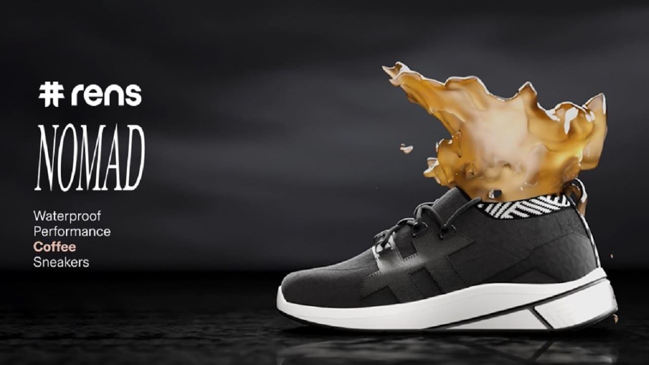 Nomad, le sneaker fatte di plastica riciclata e fondi di caffè thumbnail
