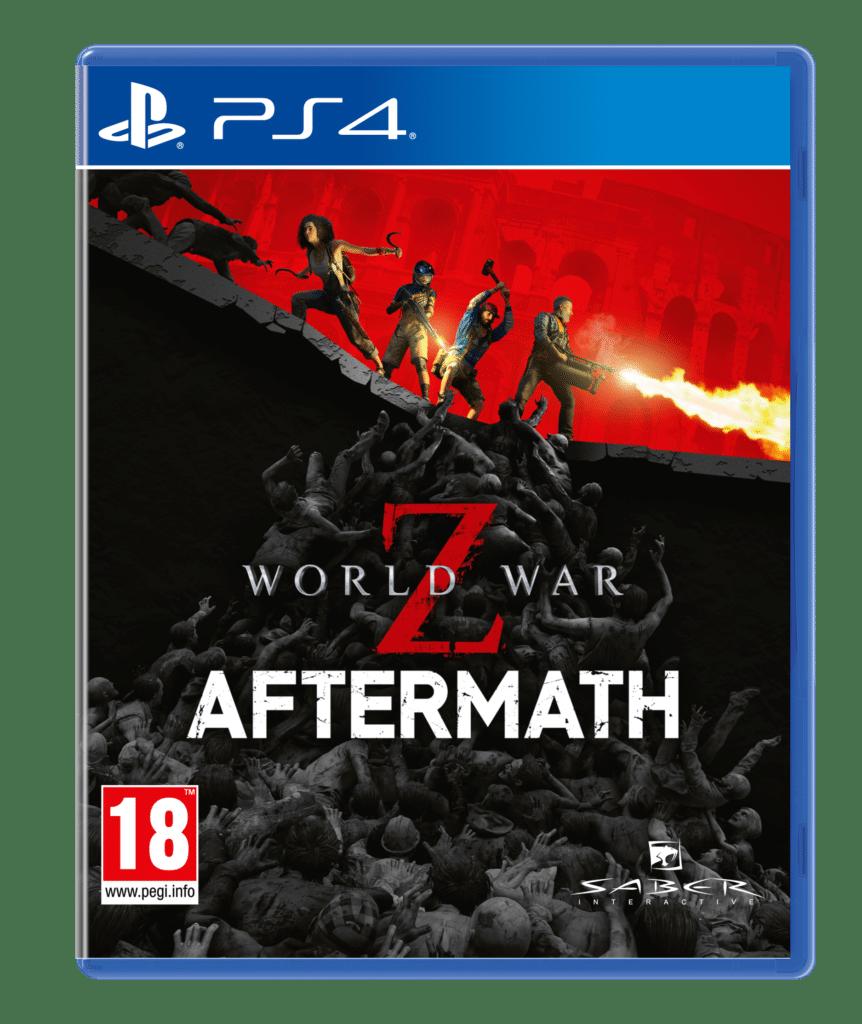 World War Z PS4 cover