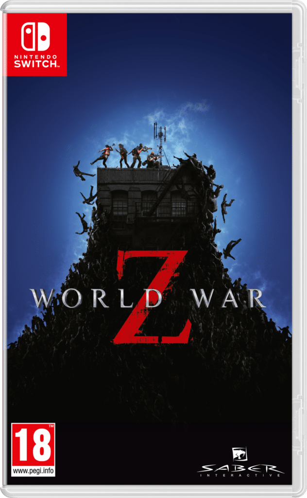 World War Z nintendo switch cover