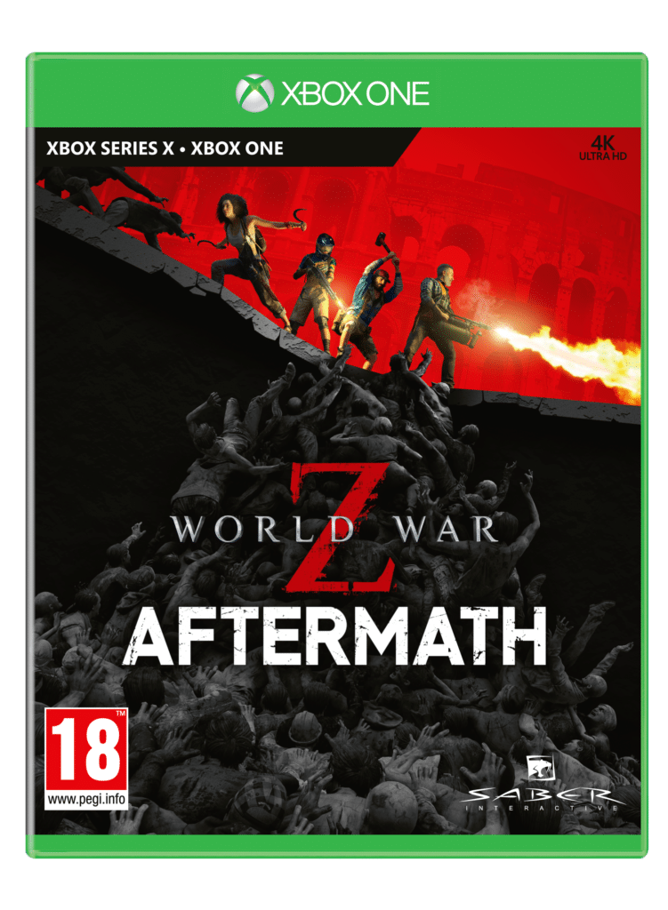 World War Z xbox one cover