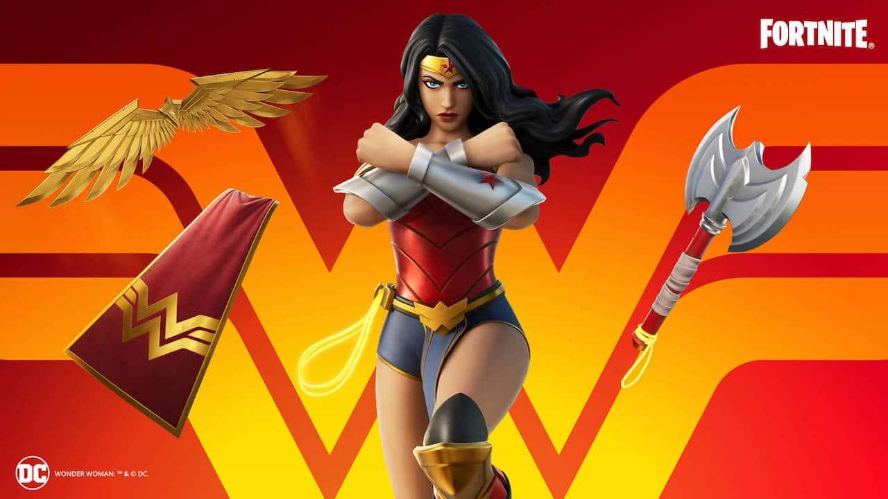 Wonder Woman arriva su Fortnite thumbnail