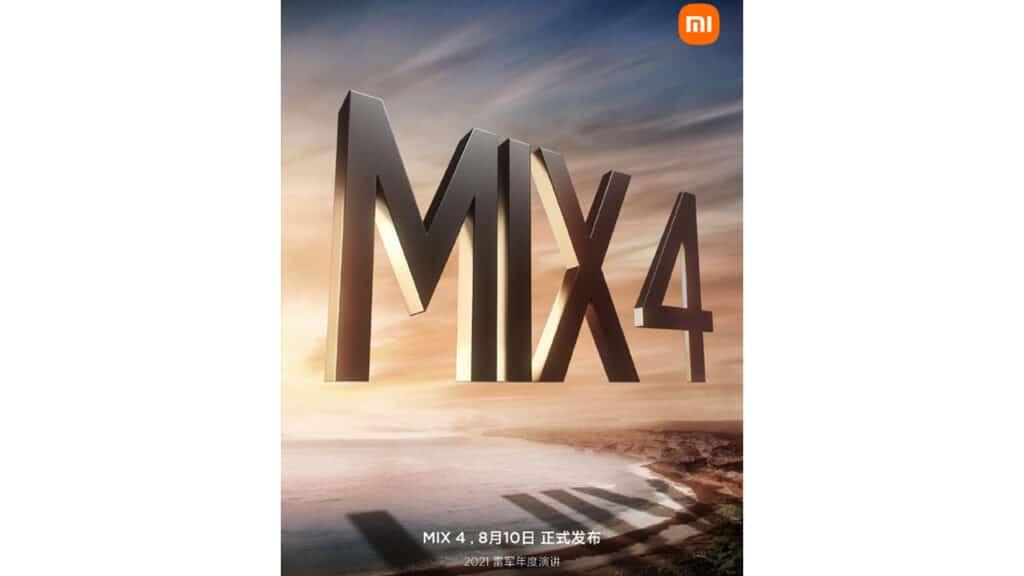 Xiaomi Mi Mix 4 data uscita e caratteristiche