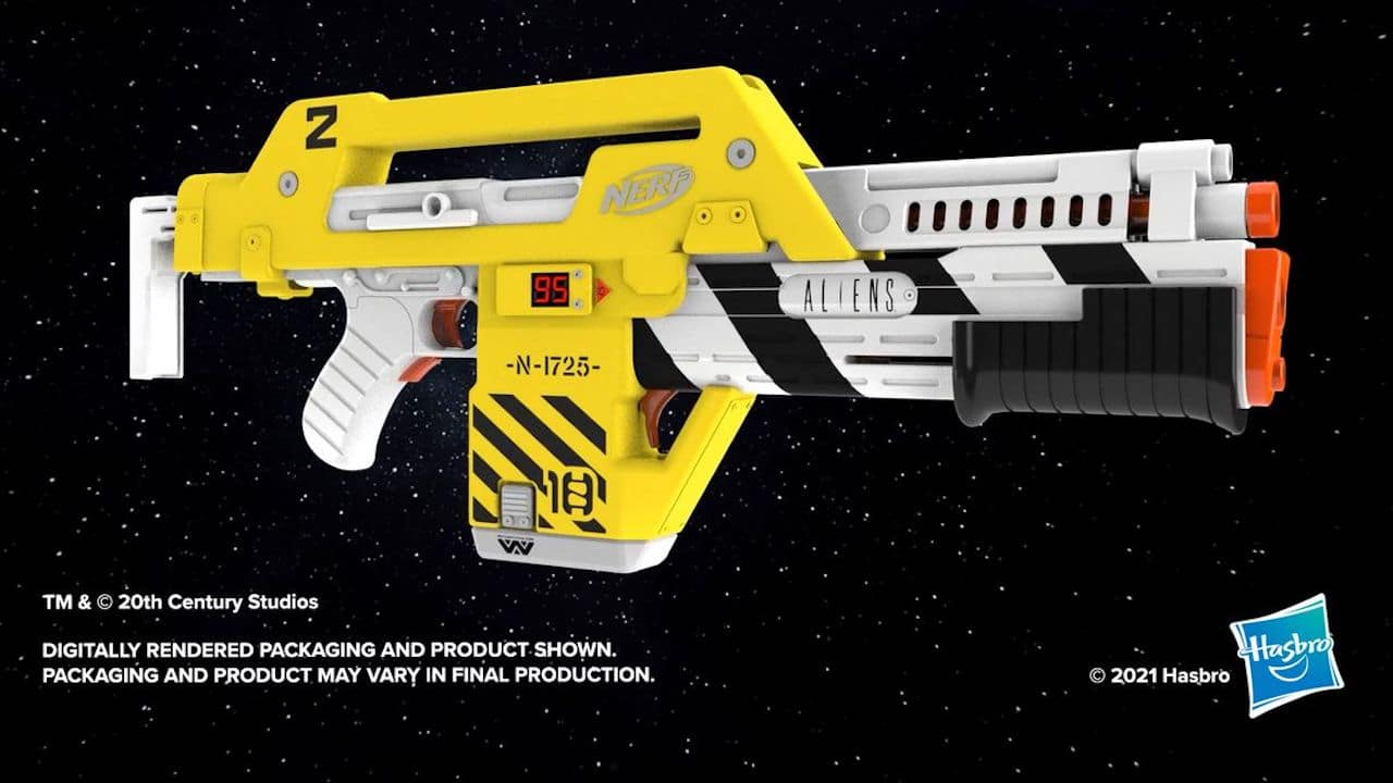 L'iconico fucile di Aliens diventa un blaster Nerf thumbnail
