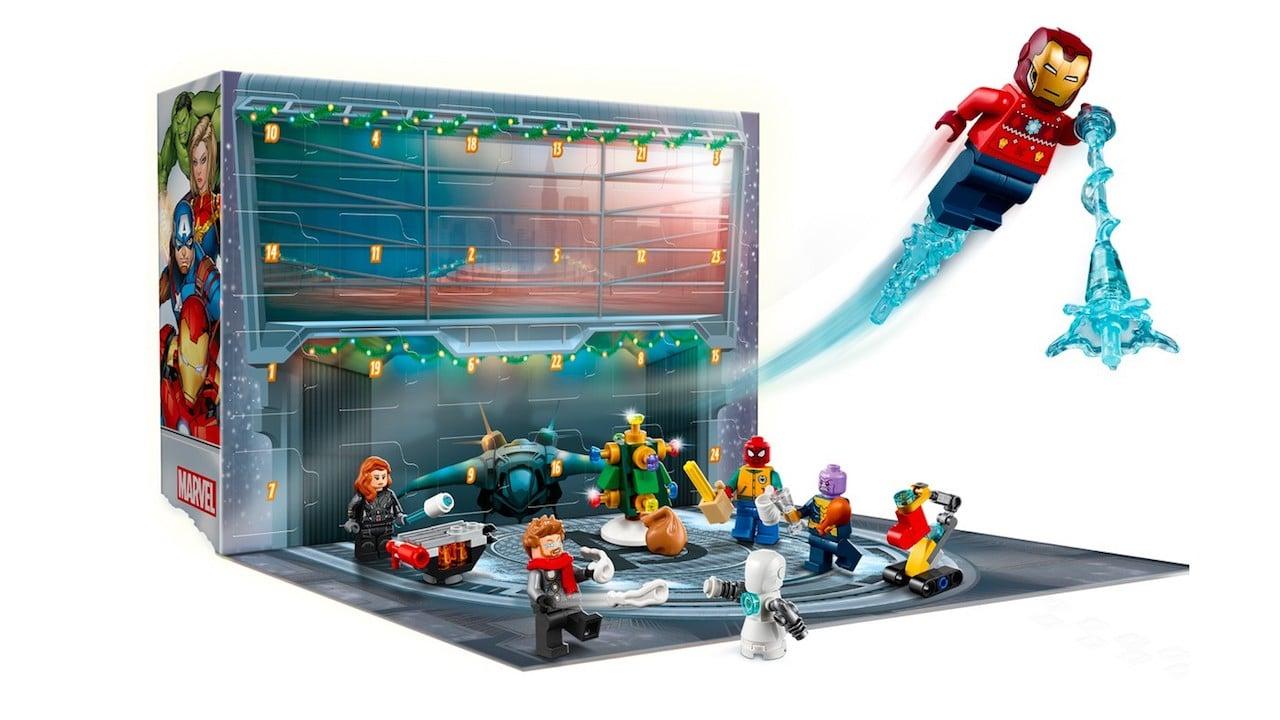 Lego svela il calendario dell'avvento ispirato agli Avengers thumbnail