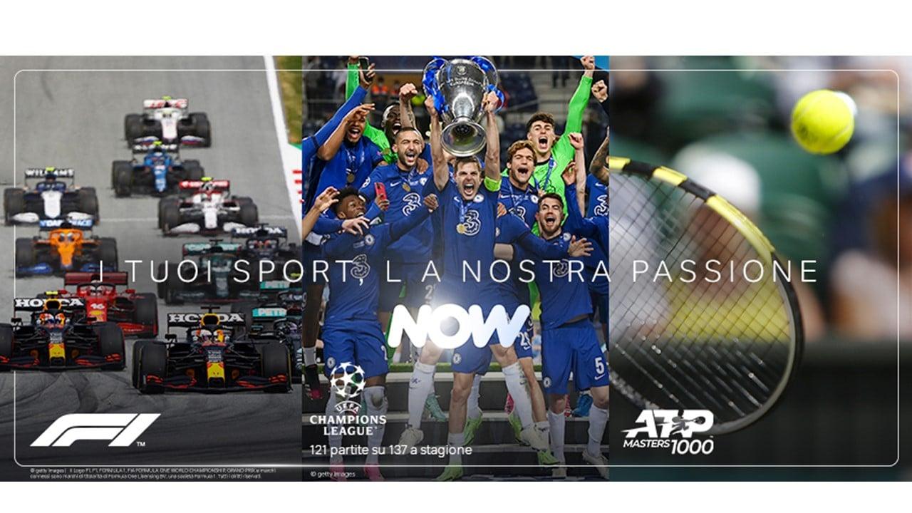 Lo sport di Sky su NOW: ecco i volti della nuova campagna pubblicitaria thumbnail
