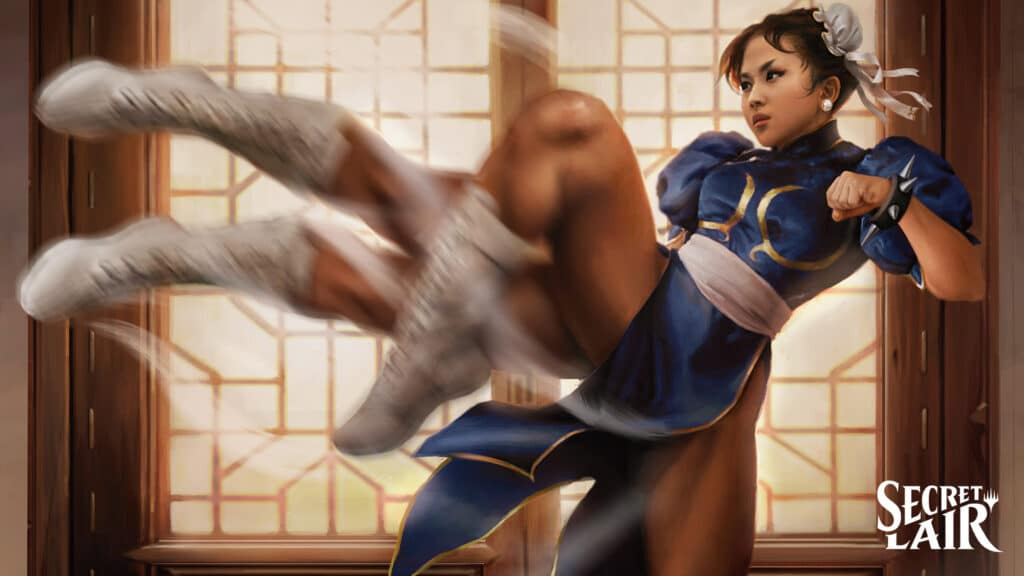 Magic the Gathering Street Fighter