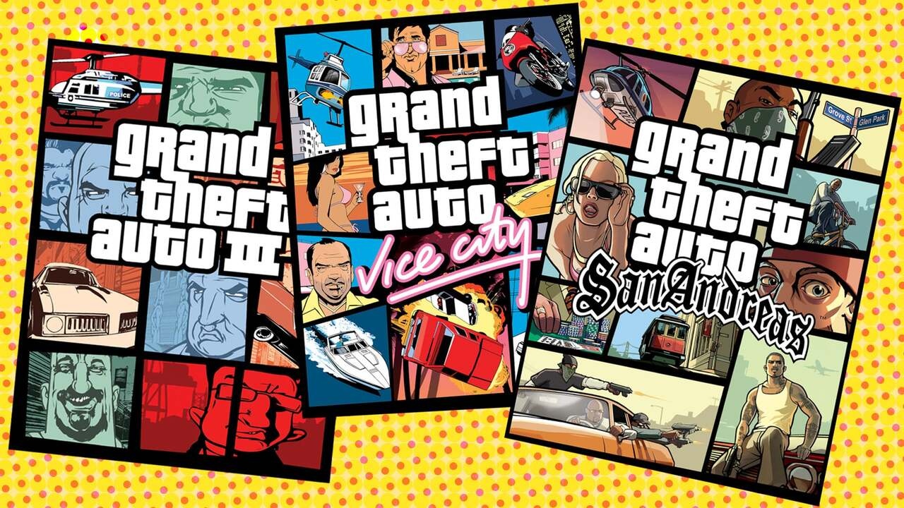 Una remaster per GTA 3, Vice City e San Andreas? thumbnail