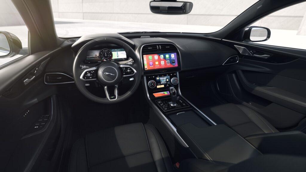 jaguar xf xe r-dynamic interni