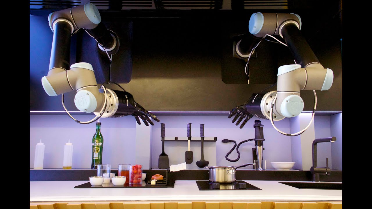 Moley presenta il robot da cucina capace di cucinare al nostro posto thumbnail