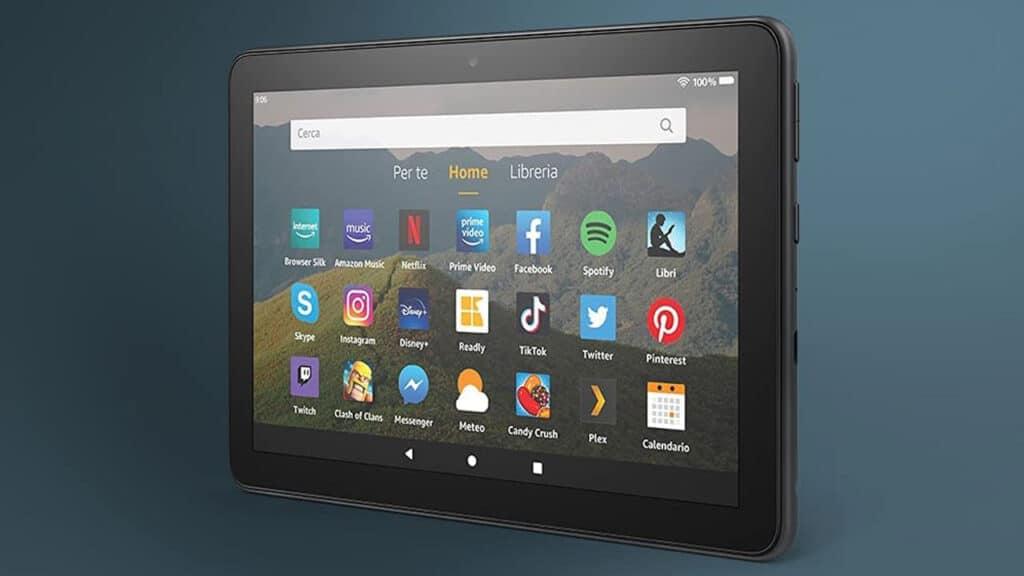 miglior tablet per studenti 2021 Amazon Fire HD 8