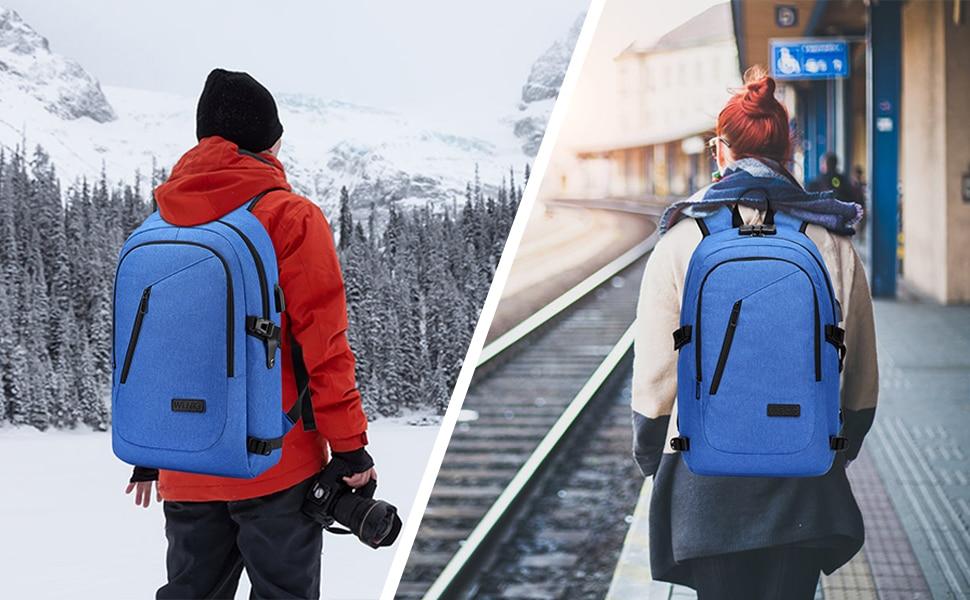 migliori zaini porta pc 2021 wenig antitheft backpack