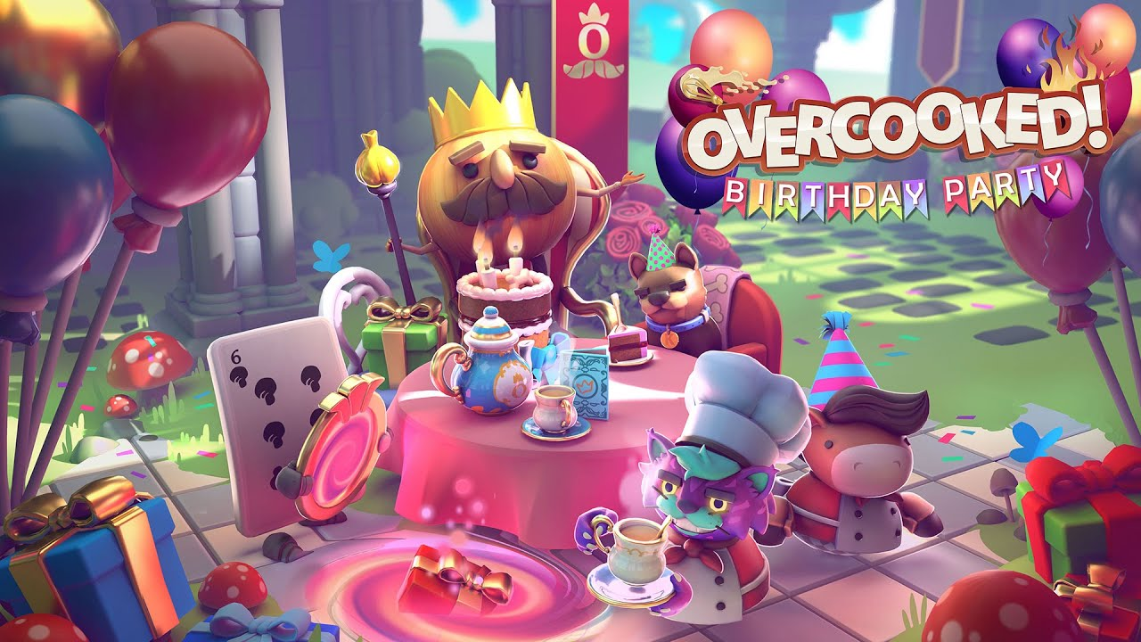 Overcooked All You Can Eat: arriva l'aggiornamento Birthday Party thumbnail
