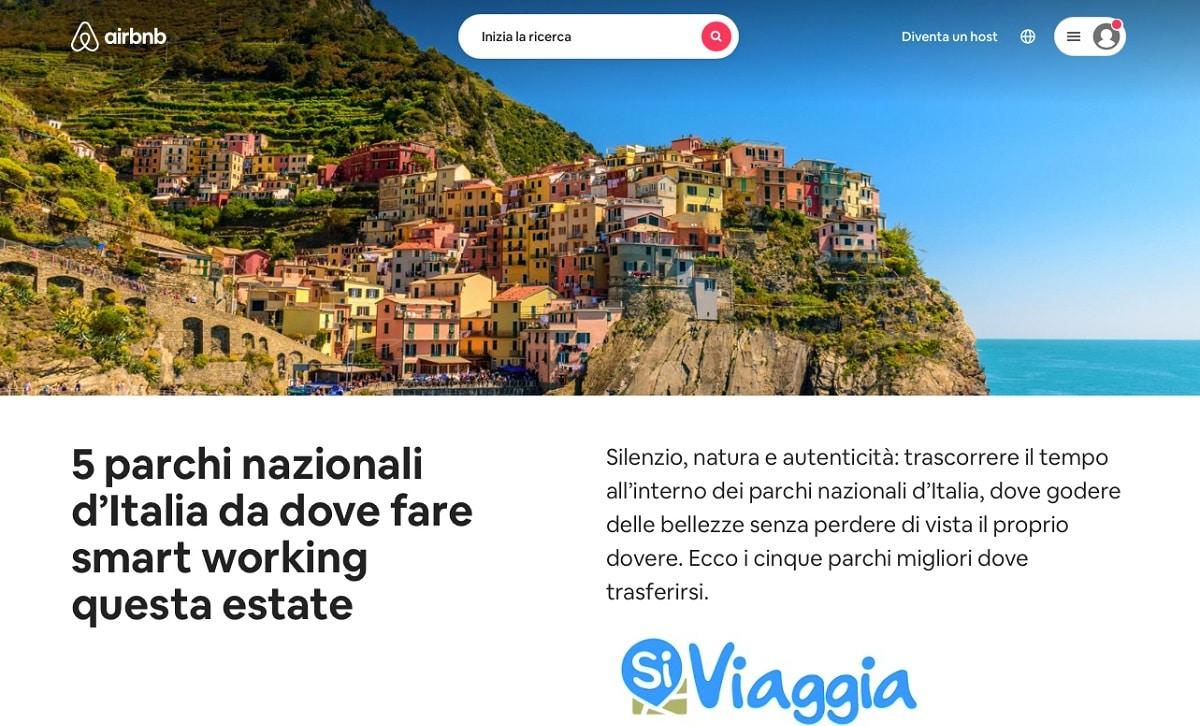 Vacanza e smart working: ecco i 5 Parchi Nazionali più adatti thumbnail