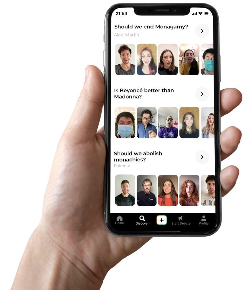 polemix app social dibattiti-min