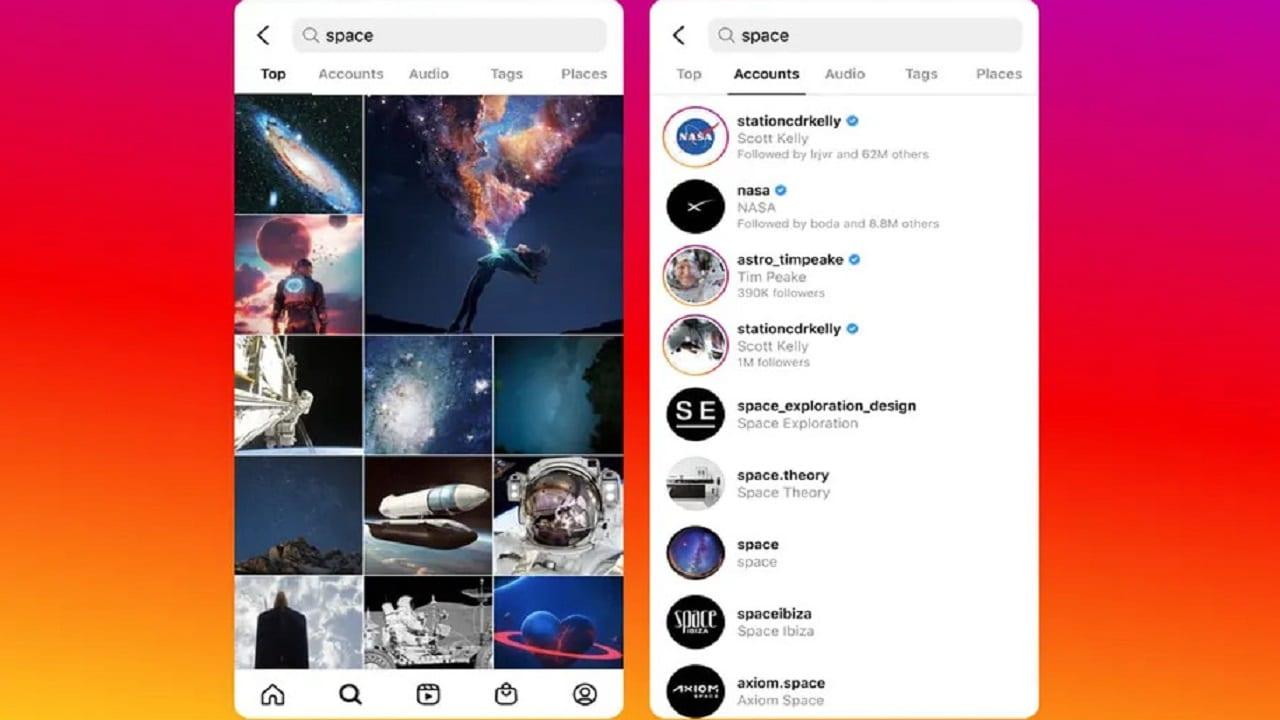 Instagram sta lavorando a funzionalità di ricerca migliorate thumbnail
