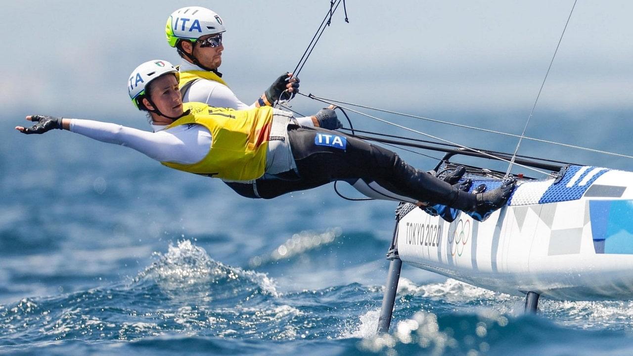 Tokyo 2020: Ruggero Tita e Caterina Banti vincono l'oro nella vela thumbnail