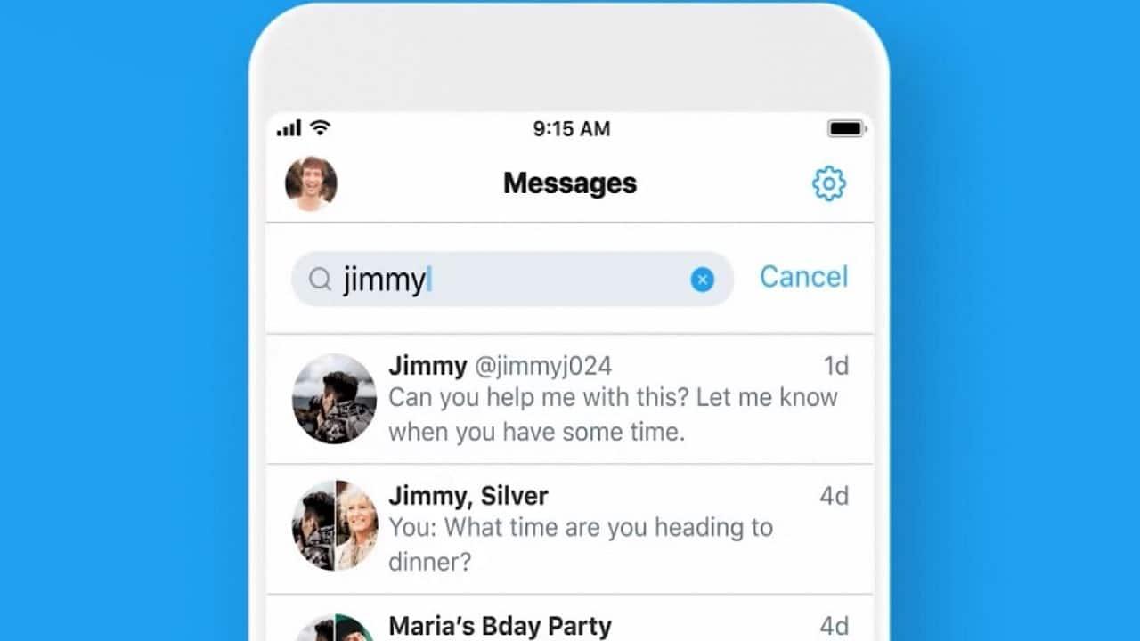 Twitter: piccoli aggiornamenti per i messaggi diretti thumbnail