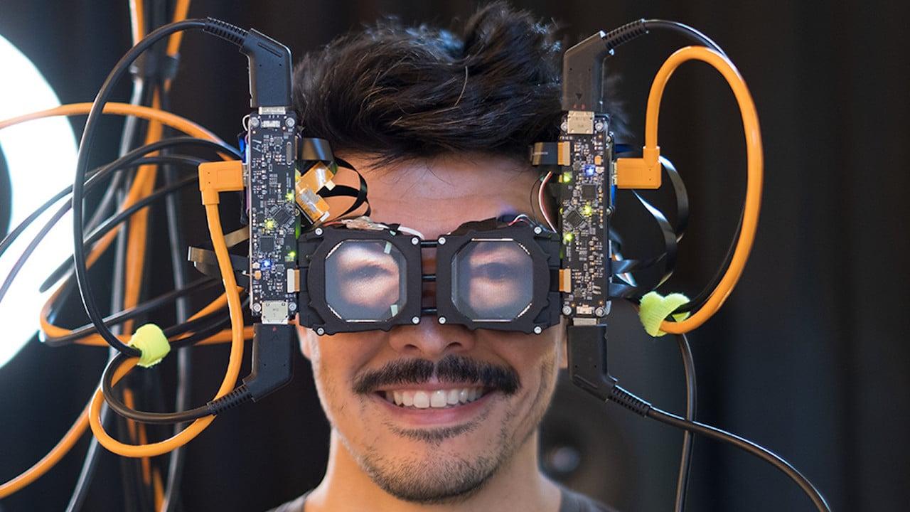 Il nuovo visore di Facebook mostra gli occhi di chi lo indossa thumbnail
