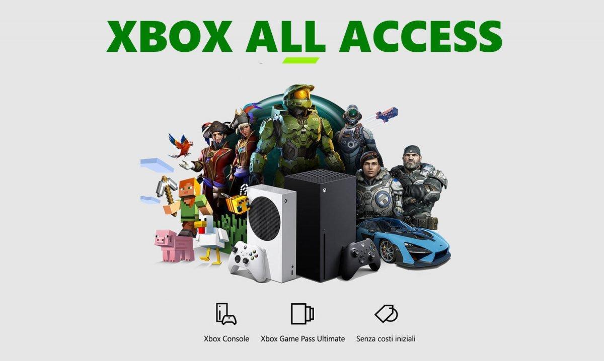Xbox All Access arriva in Italia: Xbox Series X e Game Pass in un unico pacchetto thumbnail