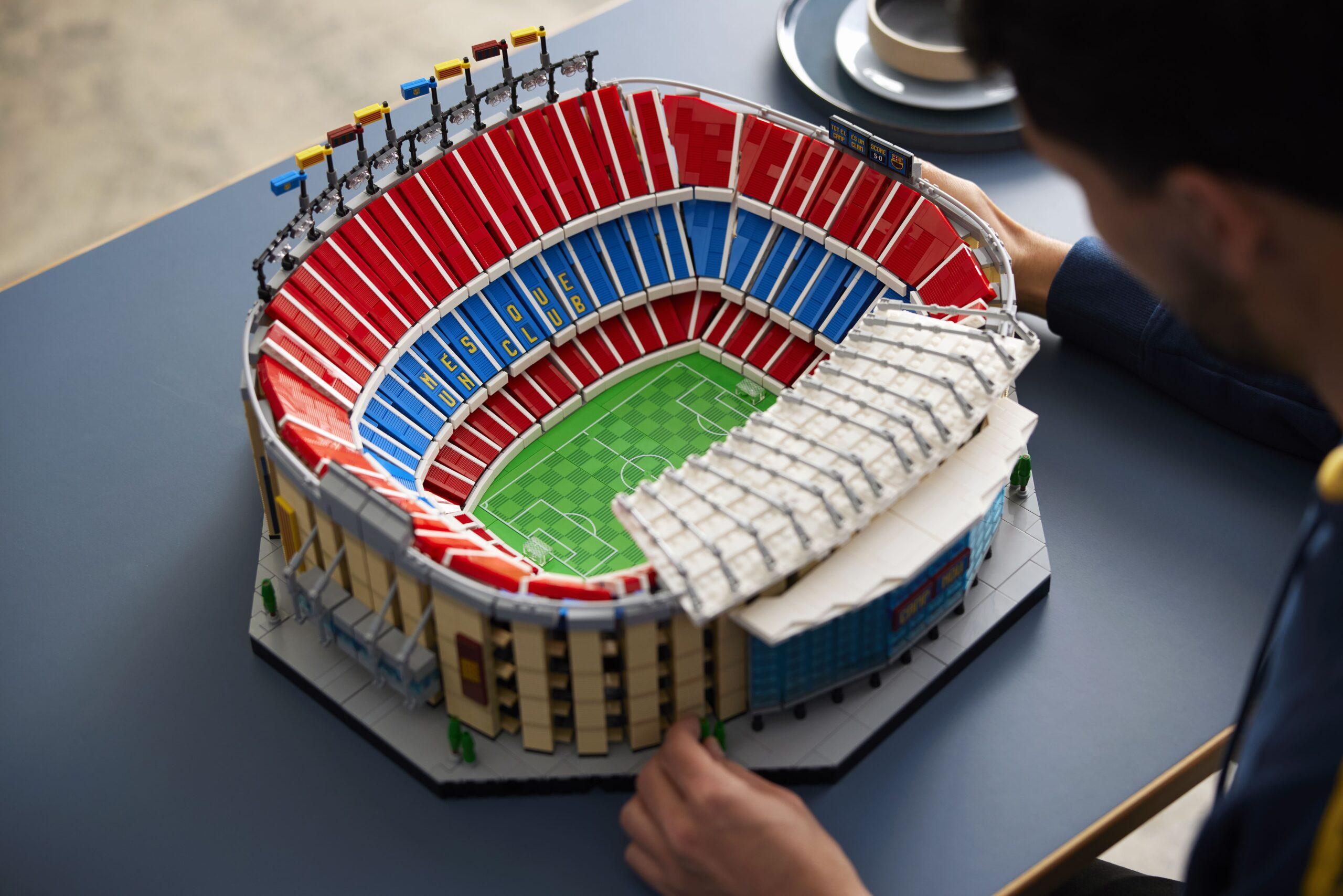 LEGO: disponibile il nuovissimo set dell'iconico Camp Nou del Barcellona thumbnail