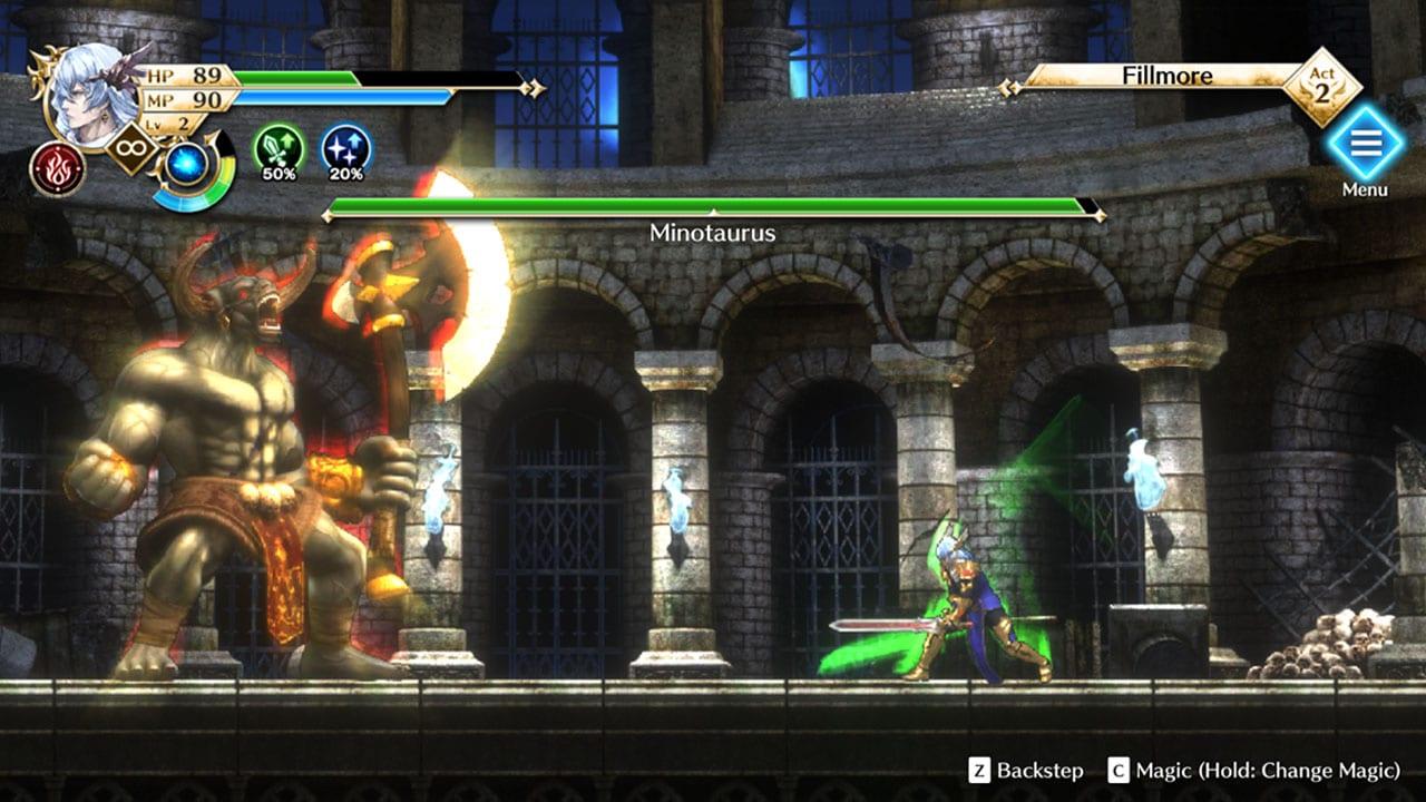 Actraiser Renaissance è disponibile per Switch, PS4, PC e smartphone
